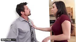 Karlee Grey's pussy gets pounded by a married man