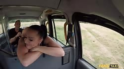 Fake Taxi American Texas Patti in a hardcore British taxi porn video