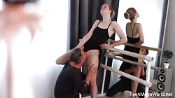 Creampie-Angels - Clockwork Victoria - Ballet dancers orgasm in class