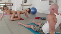 BrazzersExxtra - Keisha Grey & Mia Malkova - Stretching Them Out